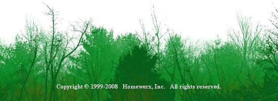 Call Homewerx Home Inspections for your Green Inspection today!